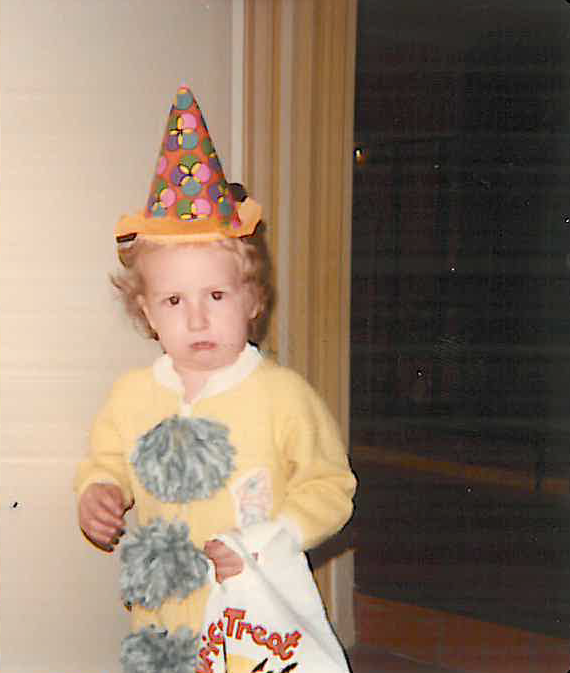 Brightergy Solar Designer Aaron Moran at age 2.