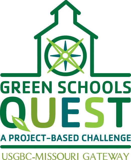 The USGBC Missouri Green Schools Quest partners businesses with schools, mentoring them on how to go green at school.
