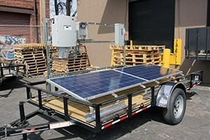 horace mobile solar energy demo unit