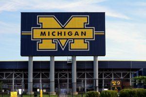 university of michigan football field